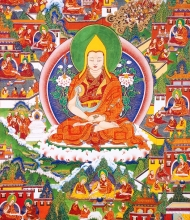 Thangka 11: The Great Exposition of the Stages of the Path to Buddhahood