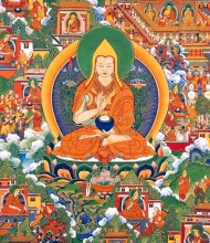 Thangka 12: The Great Prayer Festival (Monalm Chenmo)