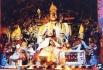 Lama Tsongkhapa Statue at Sera Monastery