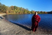 Rinpoche in Turkey Swamp, New Jersey