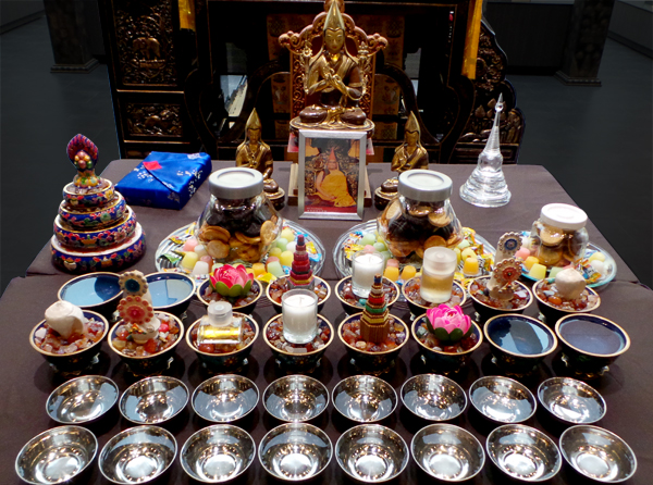Altar & Offering Set up