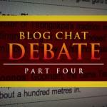 Blog Chat Quiz / Debate – { PART FOUR }