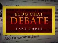 Blog Chat Quiz / Debate – { PART THREE }